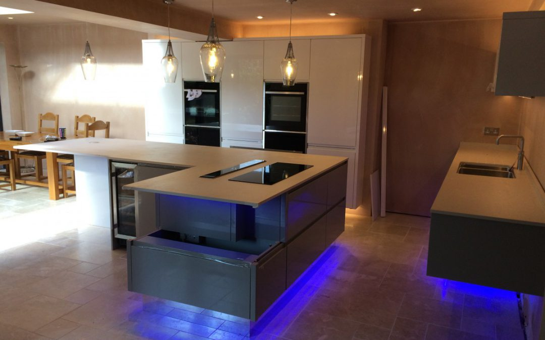Adding a touch of quality to kitchen extension with Smart Lighting