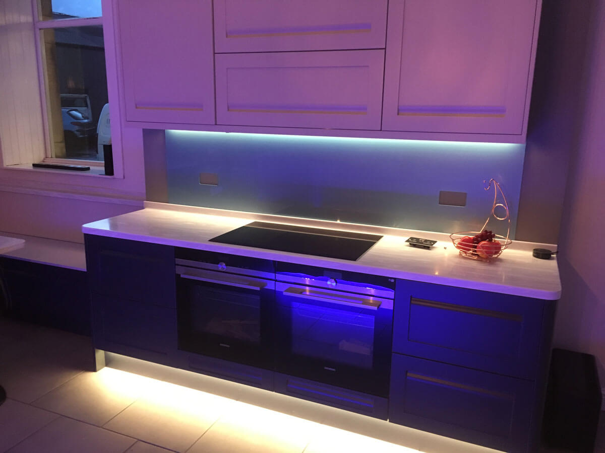 Customisable kitchen lighting