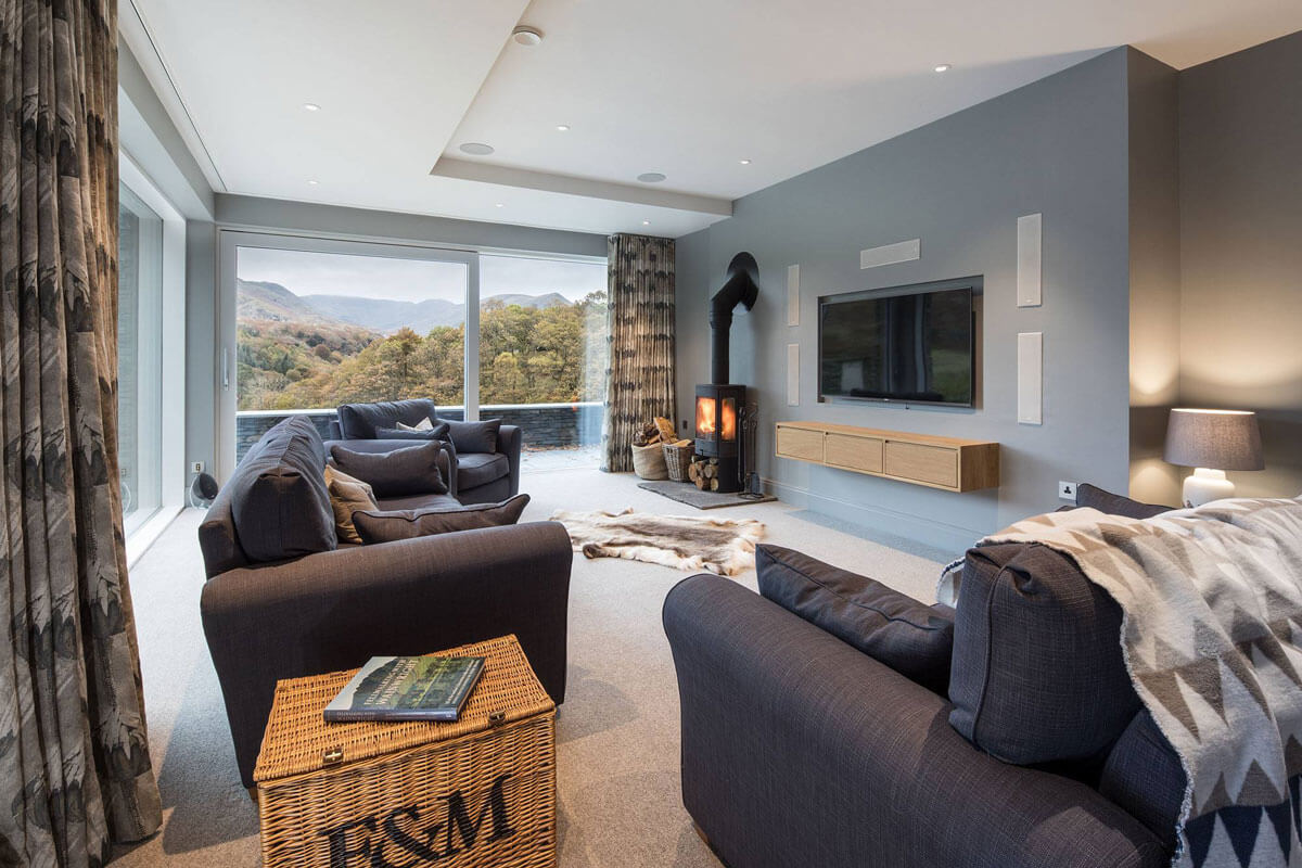Bespoke Lake District Project living room
