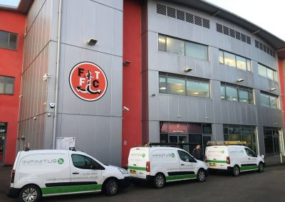 Partnership with Fleetwood Town Football Club
